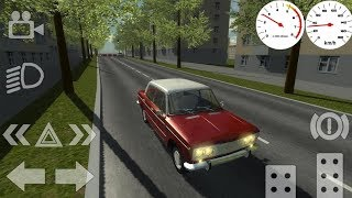 Russian Classic Car Simulator Android Gameplay