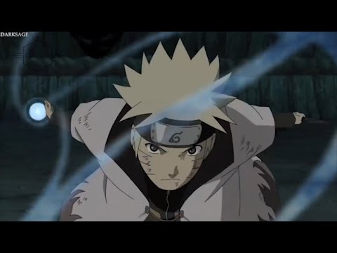 Naruto Uses 'Flying Raijin' for the First Time - Minato Saves Naruto from Tobi's Attack