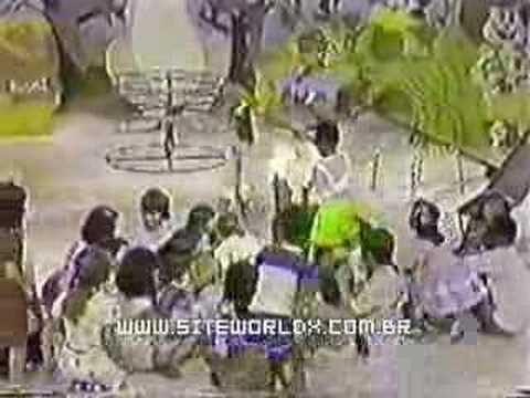 Começo de mais um Clube da Criança com a Xuxa - 1983