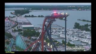 VALRAVN STOPPED ON MID-COURSE BRAKE then Moving from Cedar Point Web Cam HD(, 2016-06-29T02:40:13.000Z)