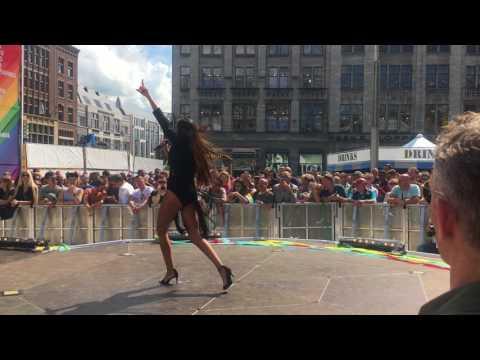 Mirela - Contigo (live at Amsterdam Pride 2017)