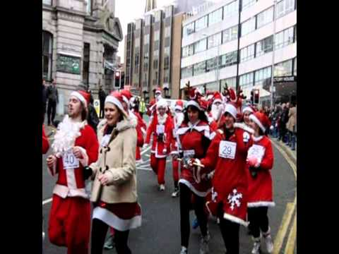 Santa Dash 2010 - Douglas, Isle of Man