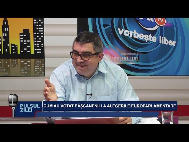 PULSUL ZILEI - CUM AU VOTAT PASCANENII LA ALEGERILE EUROPARLAMENTARE
