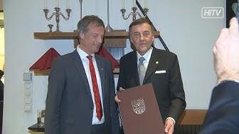 Goldene Ehrennadel für Heribert Krammer