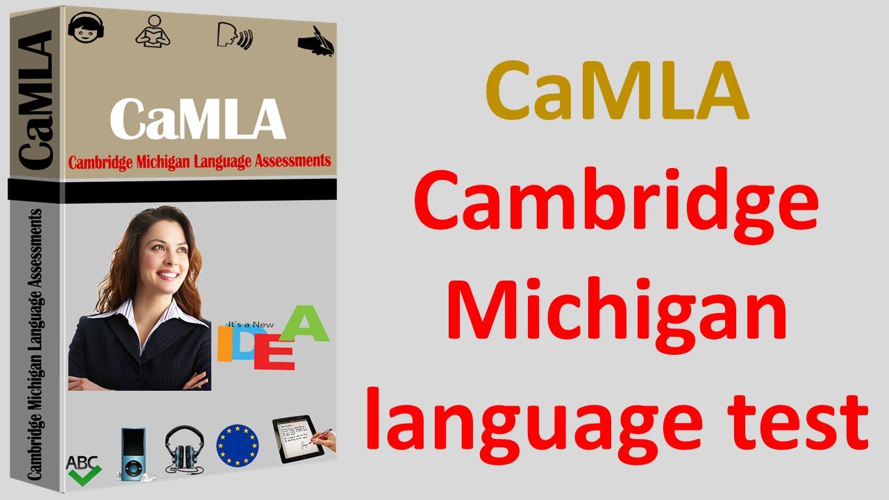 CaMLA Cambridge Michigan Language Test Vorbreitung Diplom Zertifikat ...