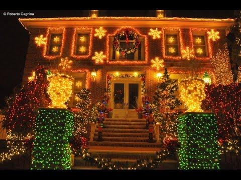 Luci natale esterno immagini esterno luci natale su casa