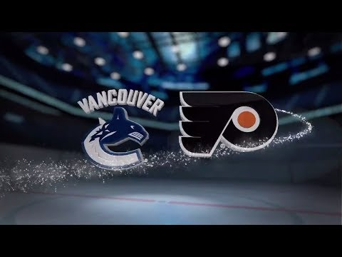 Vancouver Canucks vs Philadelphia Flyers - November 21, 2017 | Game Highlights | NHL 2017/18. Обзор