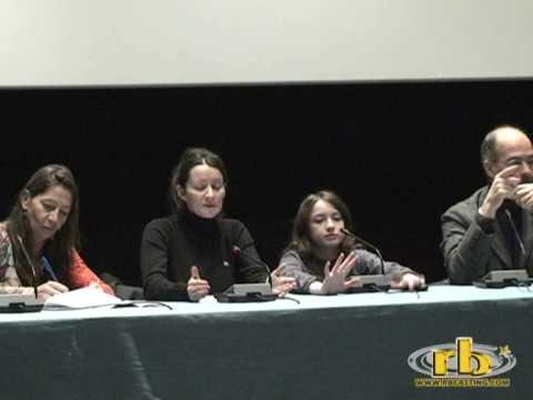 STELLA regia Sylvie Verheyde - conferenza 1° parte - WWW.RBCASTING.COM