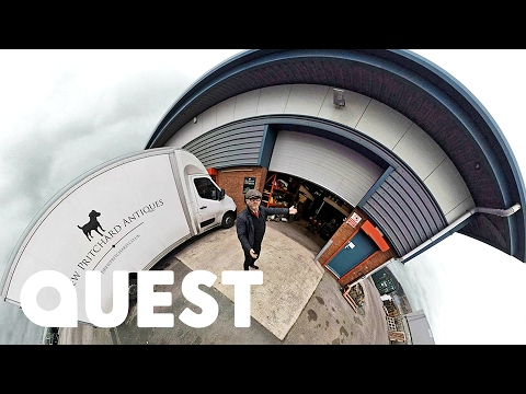 360° VIDEO   Salvage Hunters Tour   Can You Find Enzo The Dog?