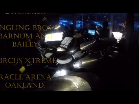 Chris Galaviz CIRCUS XTREME DRUM CAM Ringling Brothers and Barnum and Bailey