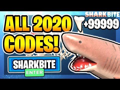 Roblox Sharkbite Codes August 2020