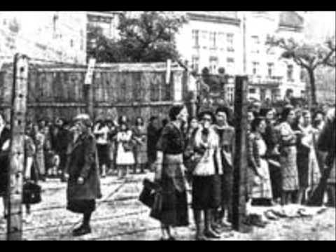 Undser Shtetl Brennt,  Jiddisch Ghetto Holocost Song, Es Brent.mp4