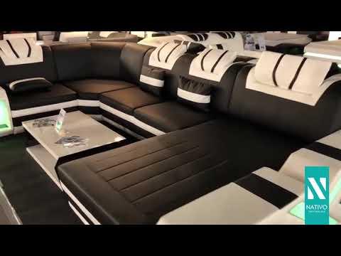 Nativo mobili italia divano di design mystique xl con for Mobili di design d occasione