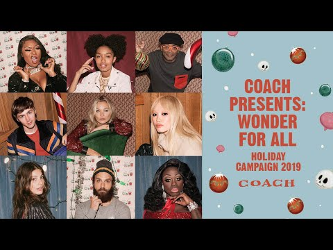 See Coach's Holiday 2019 Ad Campaign