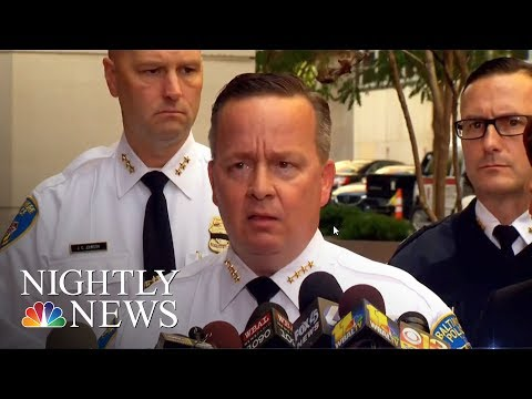 Baltimore Officer Shot Dead As City Battles Rising Murder Rate   NBC Nightly News