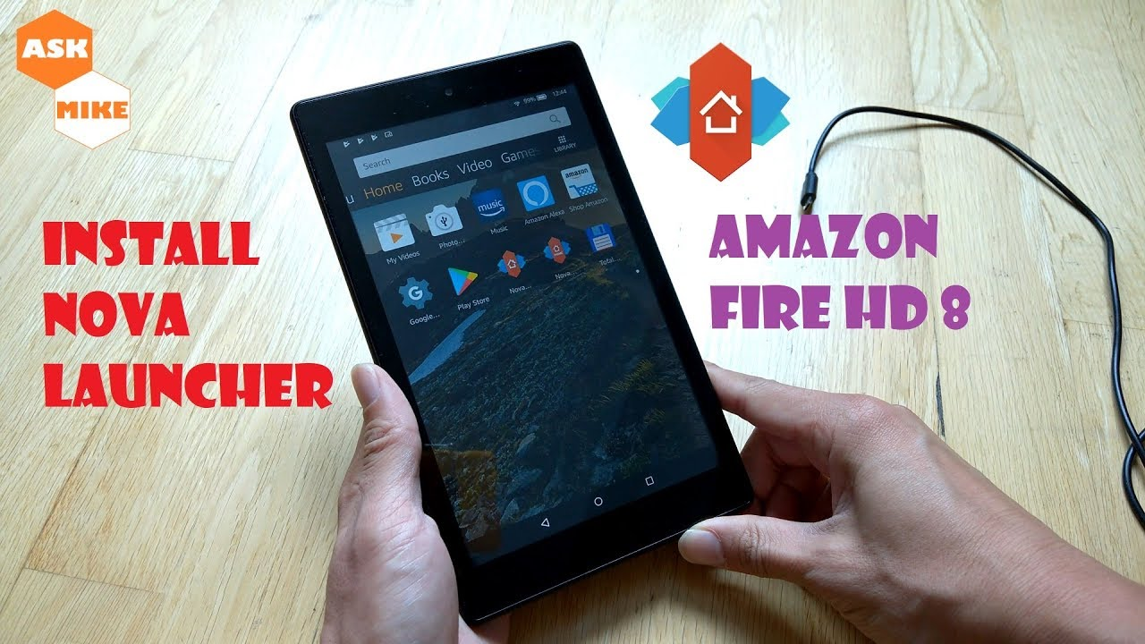 Amazon Fire HD 8 Custom ROM Videos - Waoweo