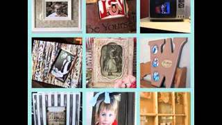 Picture Frame Craft Decoration Ideas