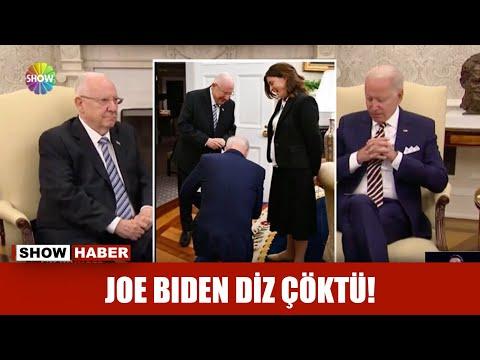 Joe Biden diz çöktü!