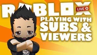 Random games with subs and viewers on IntoxiBlox | Roblox Live Stream