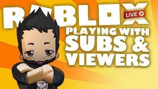 Zufällige Spiele mit Subs und Zuschauern auf IntoxiBlox | Roblox Live Stream