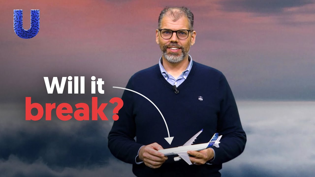 Why are planes built on the edge of failure?