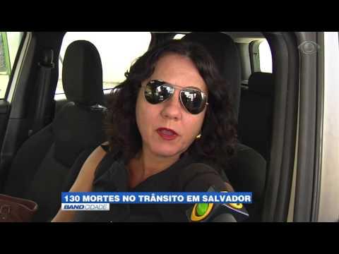 """Band Cidade - """"130 mortes no trânsito em Salvador"""""""