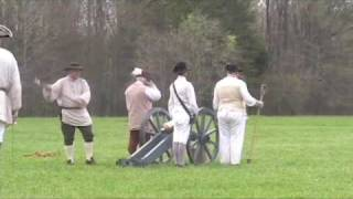 Ninety-Six Cannon Fire--Revolutionary War Days