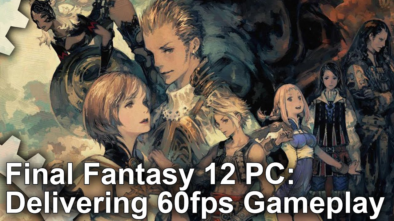 Final Fantasy XII looks best on PC -- but you'll need a