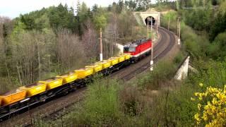 Die Semmeringbahn und ihre Tunnel Teil 1/5: Streckenabschnitt zwischen Küb und Eichberg