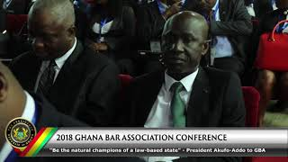 2018 Ghana Bar Association Conference