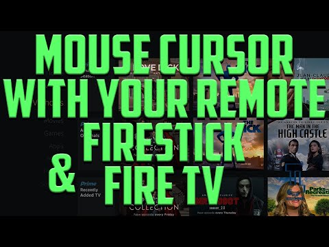 MOUSE CURSOR ON YOUR FIRESTICK OR FIRETV 2016 - EASY GUIDE TO USE YOUR REMOTE AS A MOUSE CURSOR!