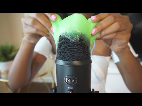 ASMR Slime in Your Ears| Satisfying STICKY SLIME Sounds PART 1