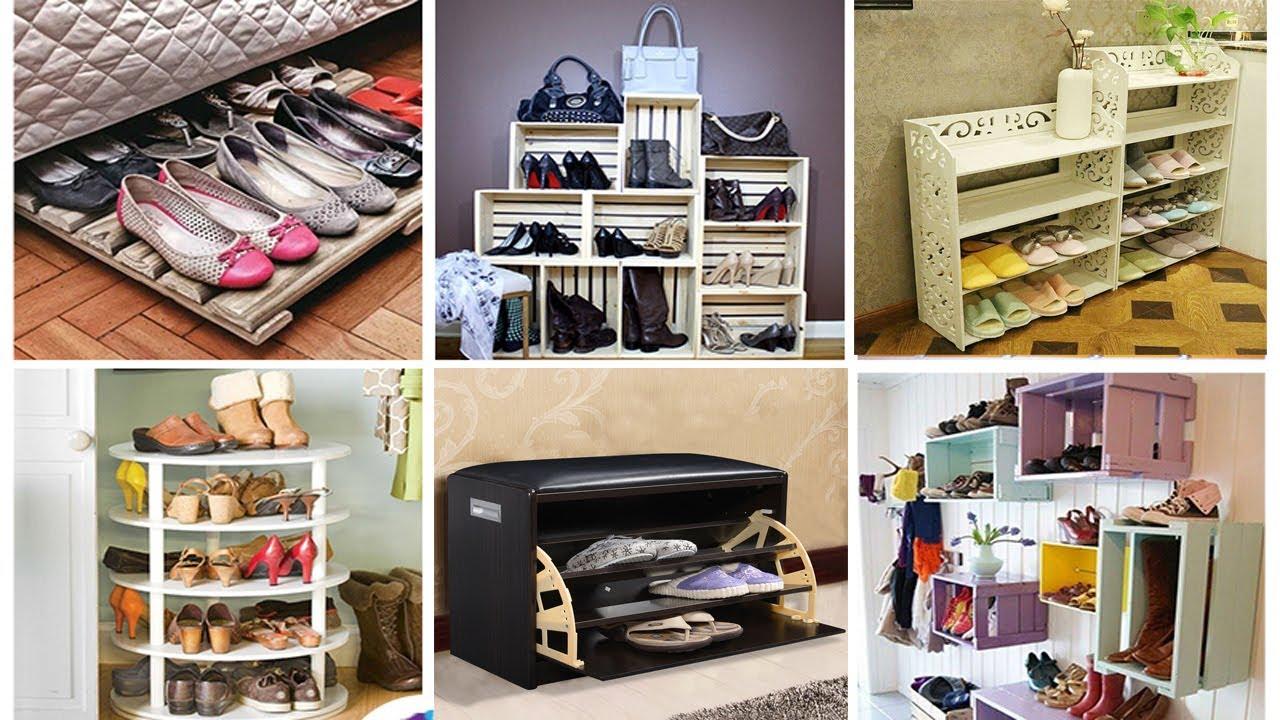 Etonnant 50 Creative Space Saving Shoe Storage Ideas | Shoe Collection Declutter  Ideas