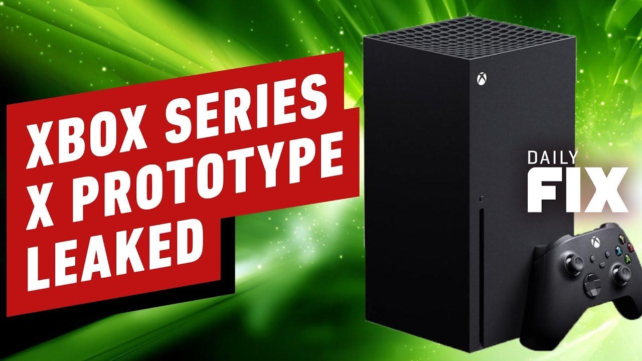 Vazamentos de protótipos do Xbox Series X revelam portas - IGN Daily Fix + vídeo