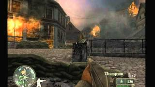 (Walkthrough) Call of Duty 2 : Big Red One PS2 (1)