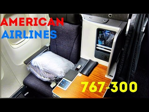 American Airlines 767 Business Class... on a domestic First Class route! Chicago to Miami