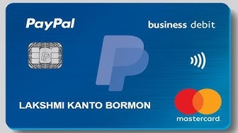 How to Get PayPal Prepaid Master Card for FREE?