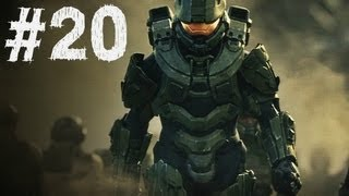 Halo 4 Gameplay Walkthrough Part 20 - Campaign Mission 8 - Midnight (H4)