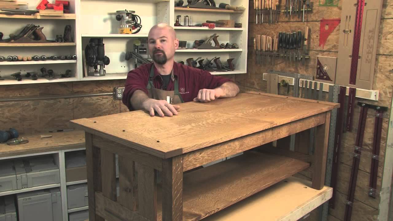 Introduction Arts and Crafts Coffee Table YouTube