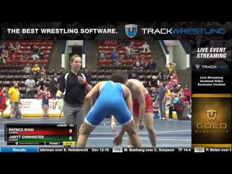 1232 Junior 152 Patrick Ryan Illinois vs Jaritt Shinhoster Illinois 6332972104