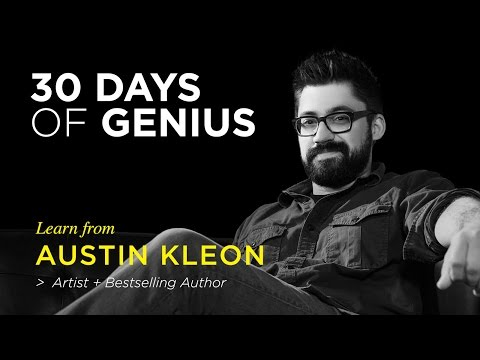 Austin Kleon  on CreativeLive | Chase Jarvis LIVE | ChaseJarvis