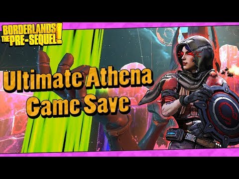 Borderlands The Pre-Sequel   My Lvl 70 Ultimate Athena Game Save