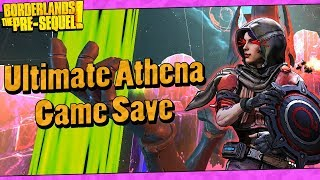 Download lagu Borderlands The Pre Sequel My Lvl 70 Ultimate Athena Game Save MP3