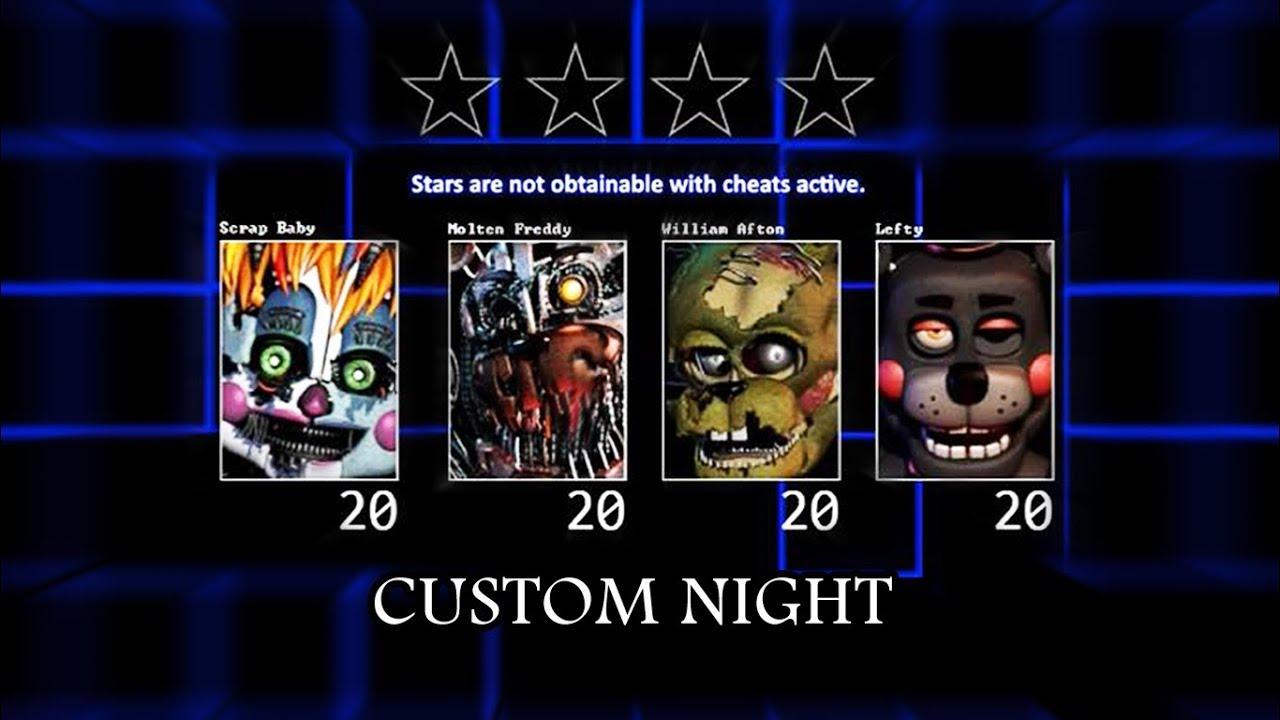 FNAF 6 - Custom Night 4/20 Mode Fan-Made