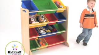 Sort It & Store It Bin Unit By Kidkraft