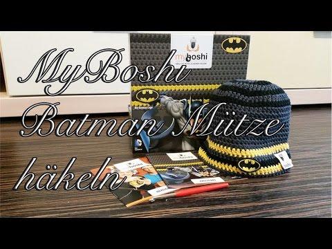 Myboshi Batman Mütze Häkeln Youtube