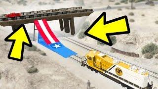 CAN A TRAIN JUMP A BRIDGE IN GTA 5?
