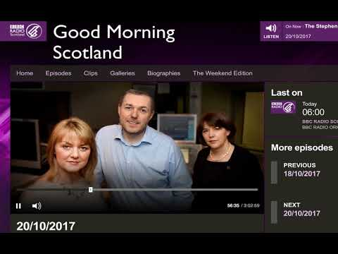 Cyber warfare between US and Russia? - BBC Scotland GMS - 20/10/2017 -