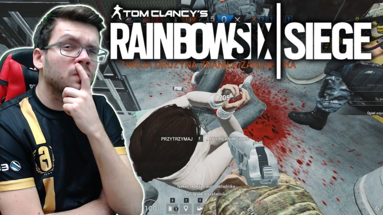 SZALONY ZAKŁADNIK! – Rainbow Six Siege Operacja Chimera