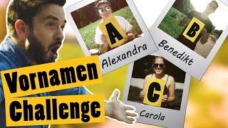 Challenge *von euch: Finde zu jedem Buchstaben im Alphabet eine Person || Das schaffst du nie!